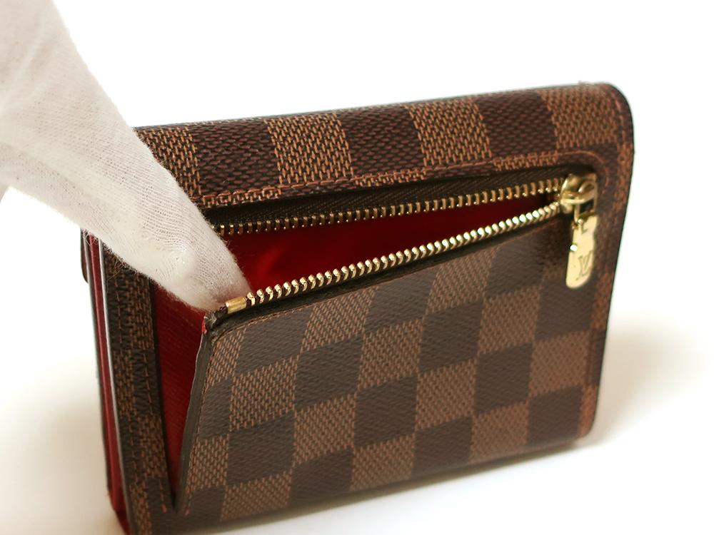 ルイヴィトン ダミエ エベヌ ポルトフォイユ・コアラ 財布 N60005 Bランク 小銭入れ02