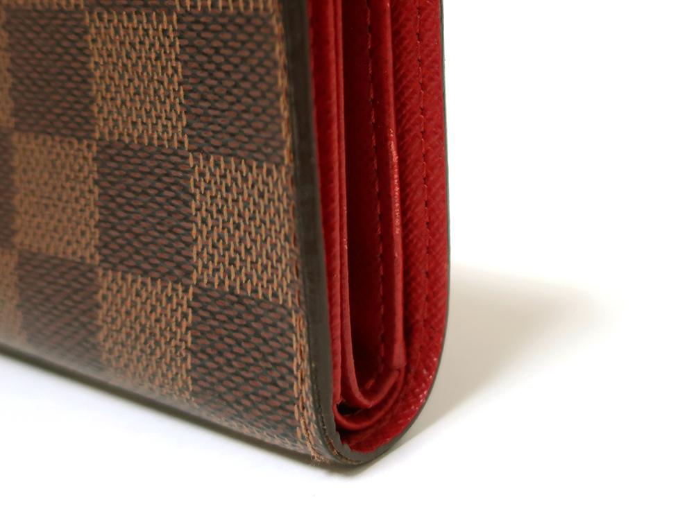 ルイヴィトン ダミエ エベヌ ポルトフォイユ・コアラ 財布 N60005 Bランク 外側ダメージ05