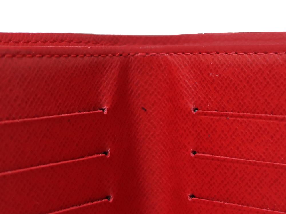 ルイヴィトン ダミエ エベヌ ポルトフォイユ・コアラ 財布 N60005 Bランク 内側ダメージ02