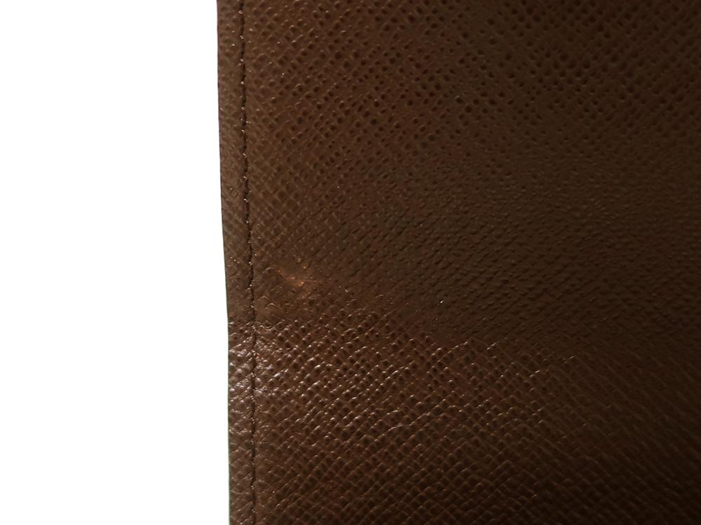 ルイヴィトン ダミエ エベヌ ポルトフォイユ・サラ 長財布 N61734 ABランク 内側ダメージ02