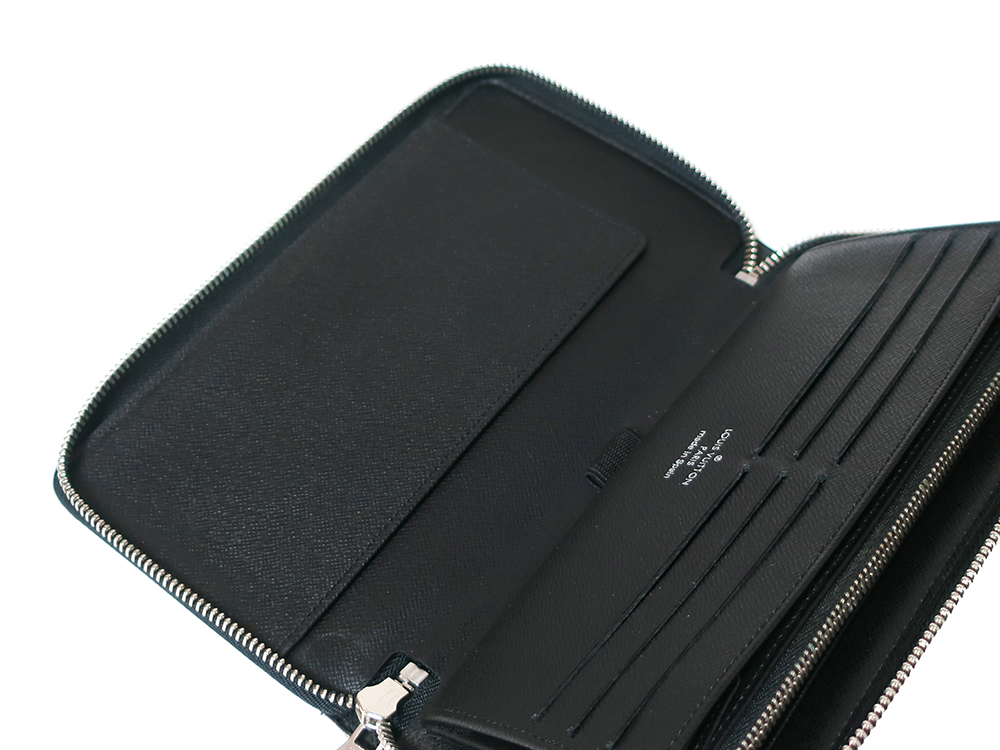 ルイヴィトン ダミエ グラフィット ジッピー・オーガナイザー 長財布 N63077 ABランク オープンポケット02