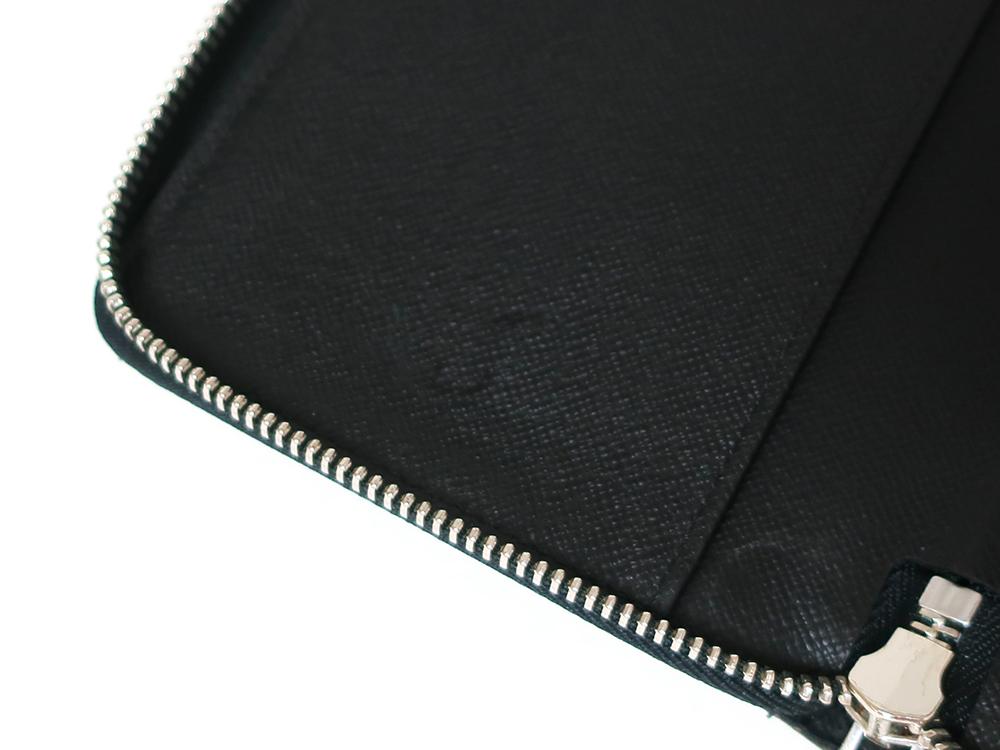 ルイヴィトン ダミエ グラフィット ジッピー・オーガナイザー 長財布 N63077 ABランク 内側ダメージ01