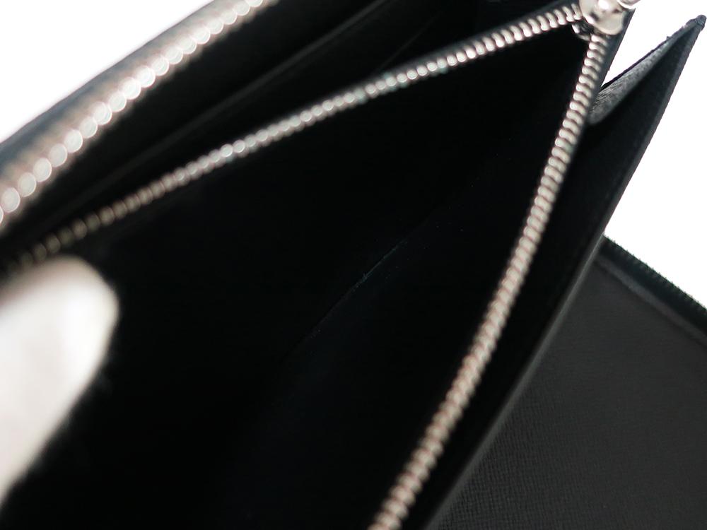 ルイヴィトン ダミエ グラフィット ジッピー・オーガナイザー 長財布 N63077 ABランク 内側ダメージ02