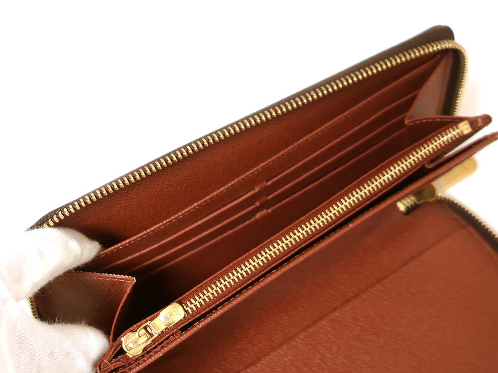 ルイヴィトン モノグラム ジッピー・オーガナイザー 長財布 M60002 オープンポケット01