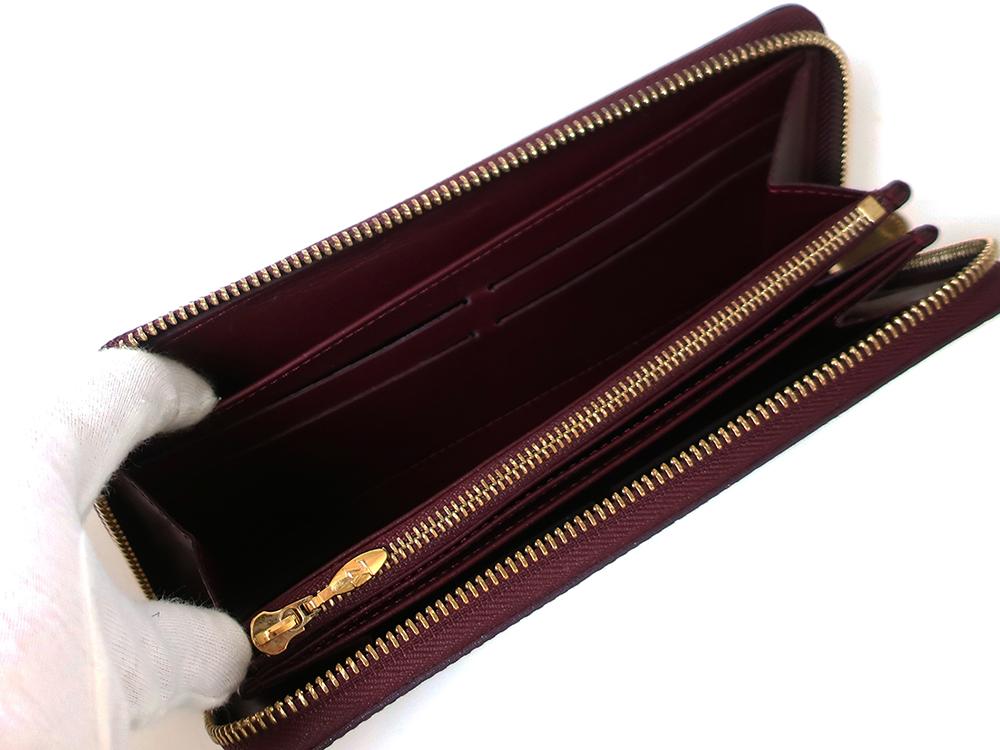 ルイヴィトン モノグラム・ヴェルニ ジッピー・ウォレット 長財布 M93575 オープンポケット01
