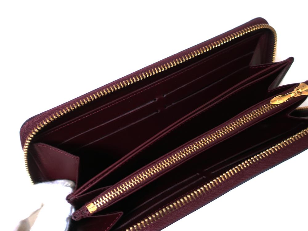 ルイヴィトン モノグラム・ヴェルニ ジッピー・ウォレット 長財布 M93575 カード入れ02