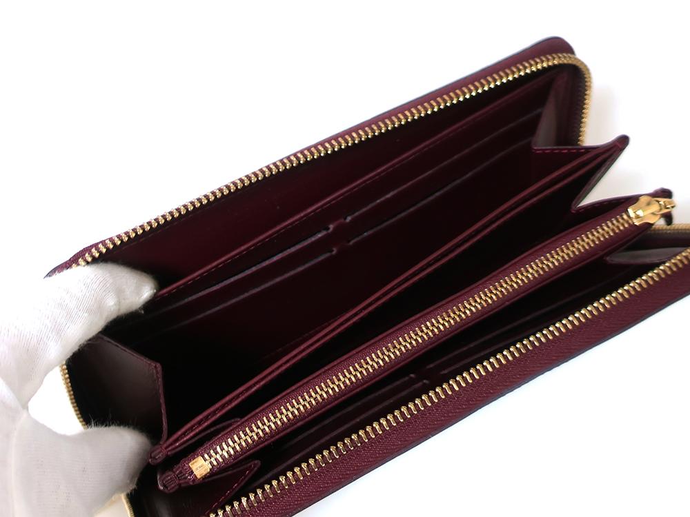 ルイヴィトン モノグラム・ヴェルニ ジッピー・ウォレット 長財布 M93575 オープンポケット03