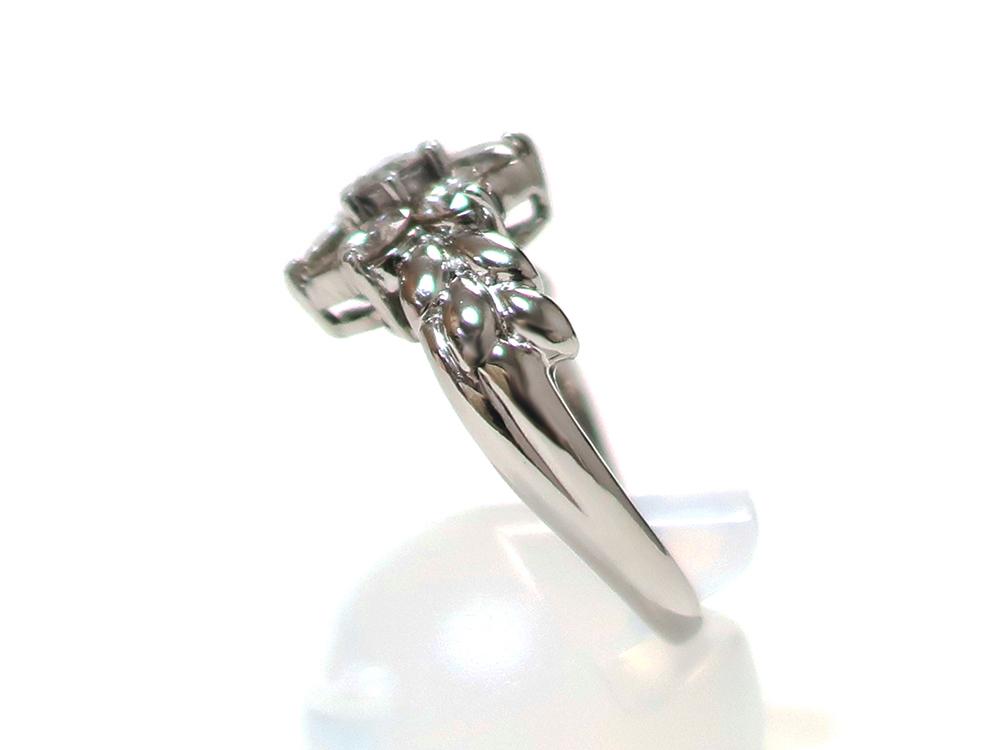 ジュエリー プラチナ ダイヤモンド リング ダイヤ2.00ct 8.0g 側面01