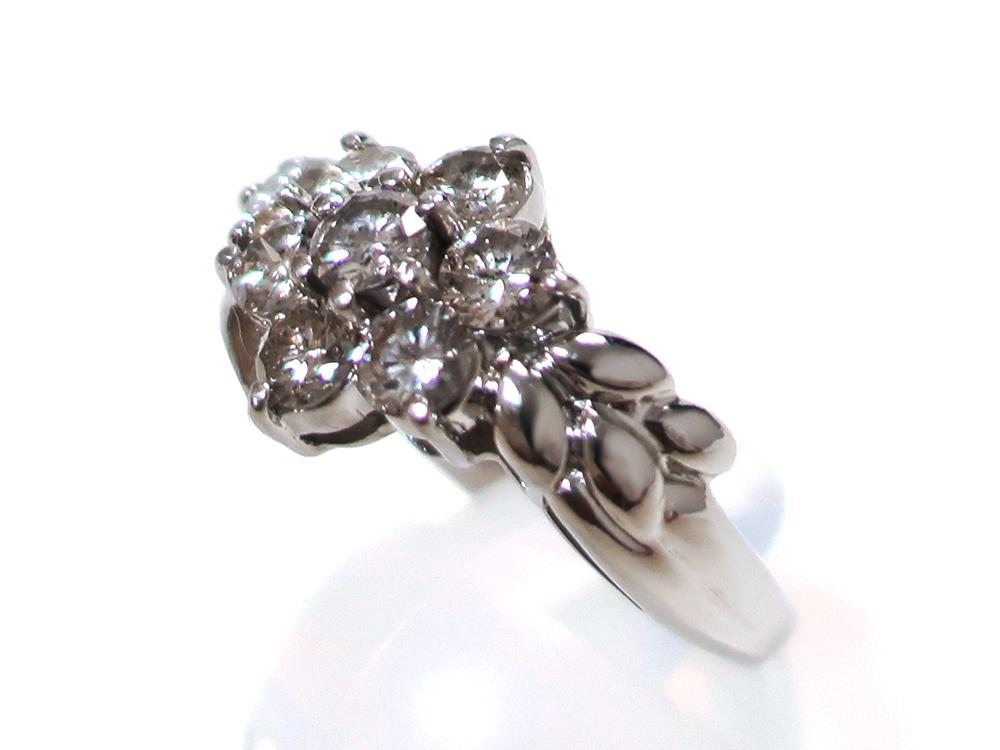 ジュエリー プラチナ ダイヤモンド リング ダイヤ2.00ct 8.0g 特徴01