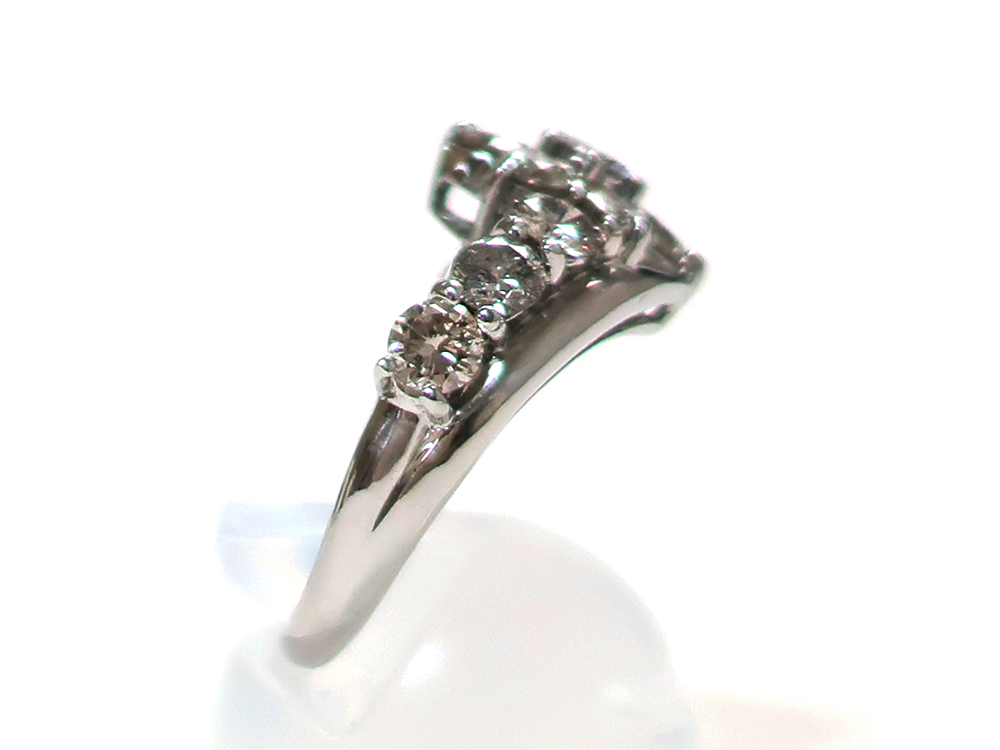ジュエリー プラチナ ダイヤモンド リング ダイヤ2.00ct 8.0g 側面02