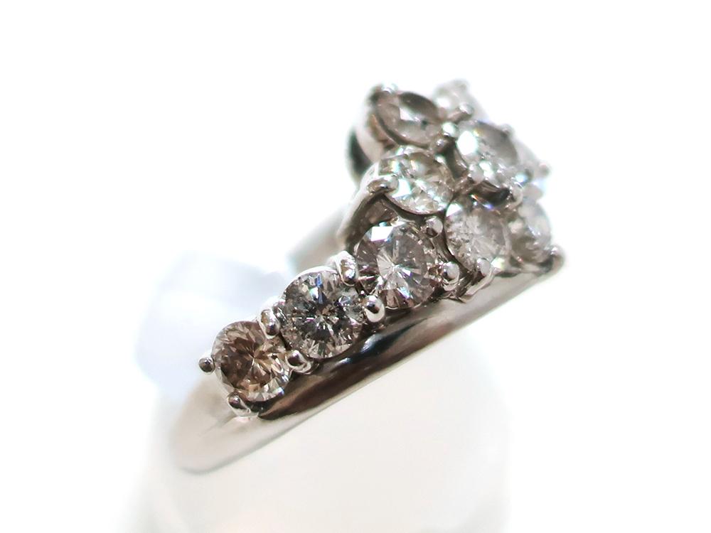 ジュエリー プラチナ ダイヤモンド リング ダイヤ2.00ct 8.0g 特徴02