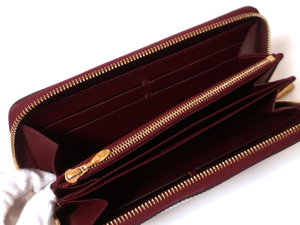 ルイヴィトン モノグラム・ヴェルニ ジッピー・ウォレット 長財布 M93575 Bランク カード入れ01