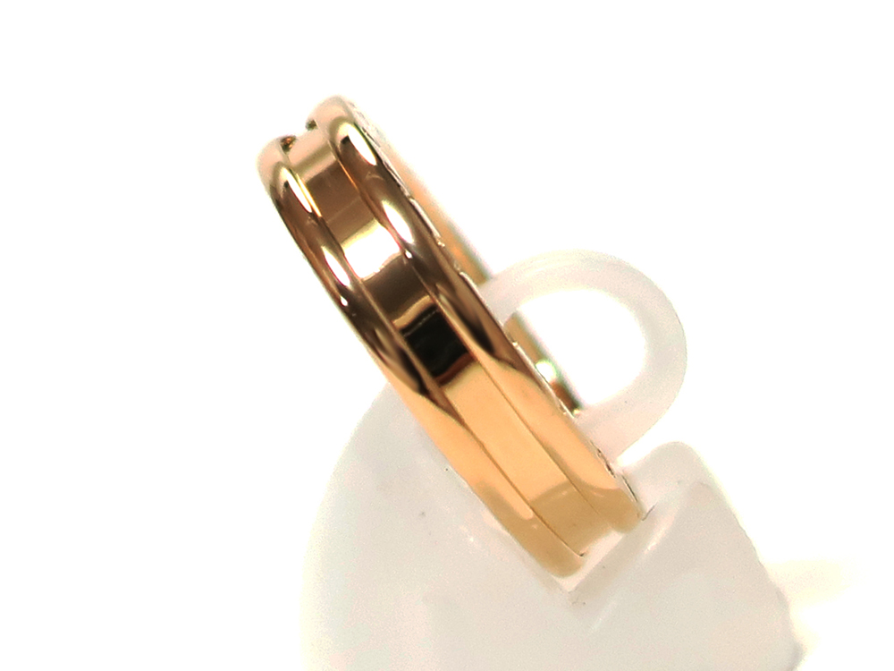 ブルガリ ビーゼロワンリングXS イエローゴールド AN852260 50号 側面01
