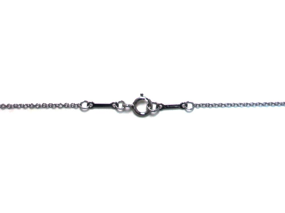 ティファニー エルサ・ペレッティ ダイヤモンド バイザヤード ペンダント ネックレス プラチナ 金具