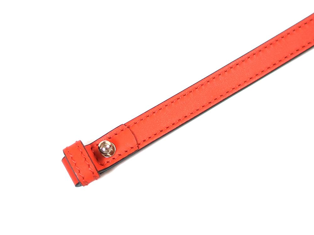 グッチ マイクログッチシマ ショルダーバッグ 449413 オレンジ ストラップ03