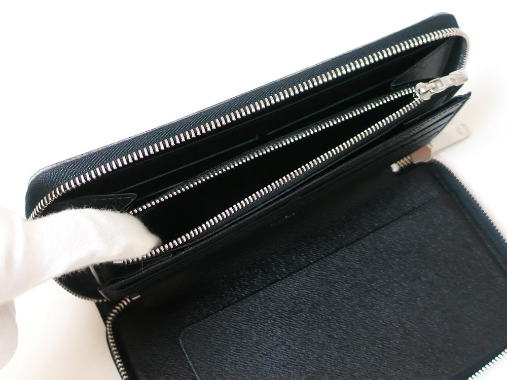 ルイヴィトン ダミエ グラフィット ジッピー・オーガナイザー 長財布 N63077 Bランク 小銭入れ