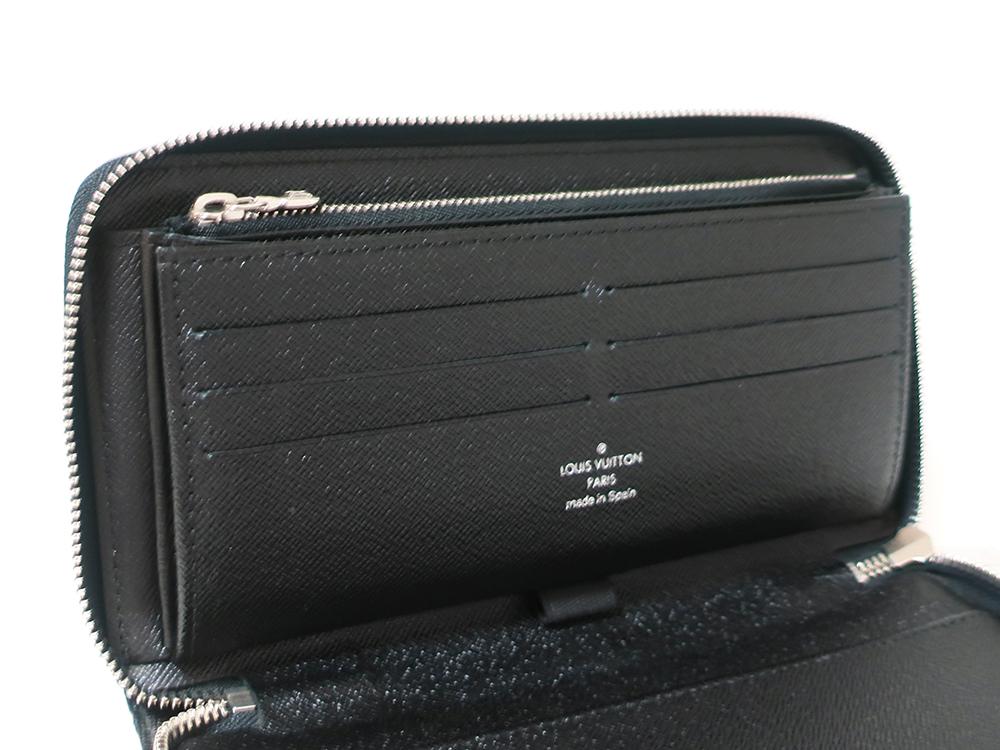 ルイヴィトン ダミエ グラフィット ジッピー・オーガナイザー 長財布 N63077 Bランク カード入れ02