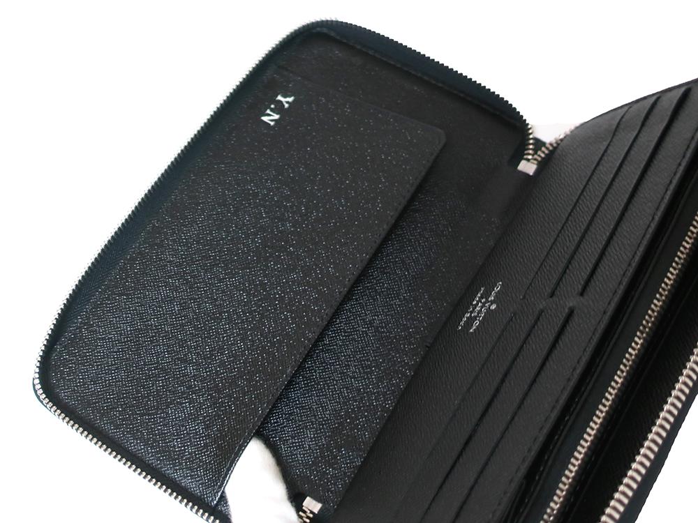 ルイヴィトン ダミエ グラフィット ジッピー・オーガナイザー 長財布 N63077 Bランク オープンポケット02