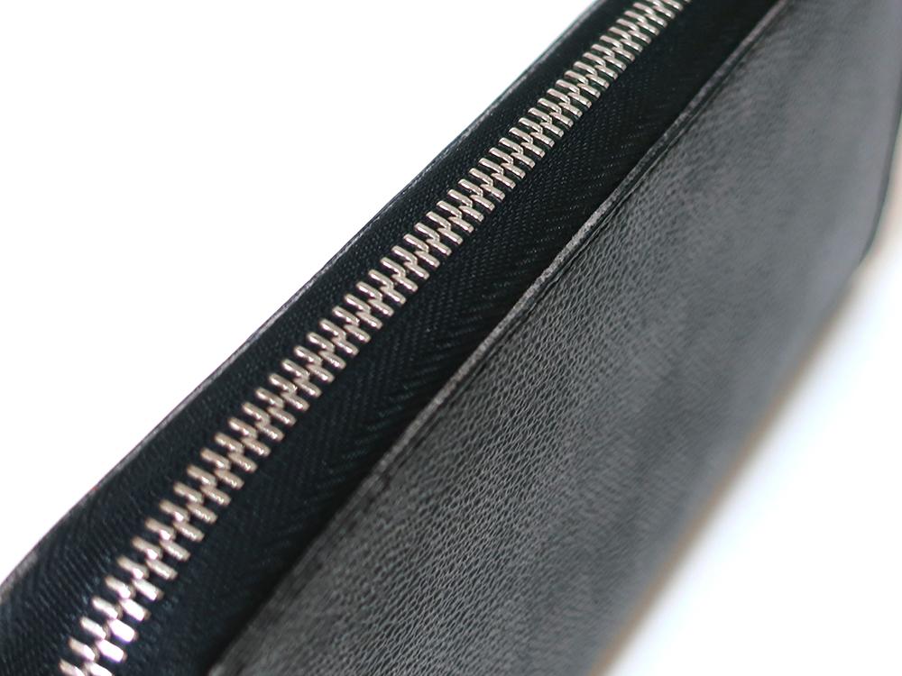 ルイヴィトン ダミエ グラフィット ジッピー・オーガナイザー 長財布 N63077 Bランク 外側ダメージ02