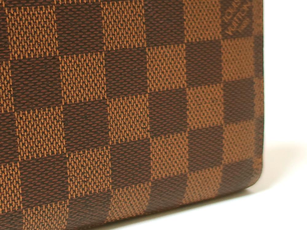 ルイヴィトン ダミエ エベヌ ジッピー・ウォレット 長財布 N60015 ABランク 外側ダメージ02