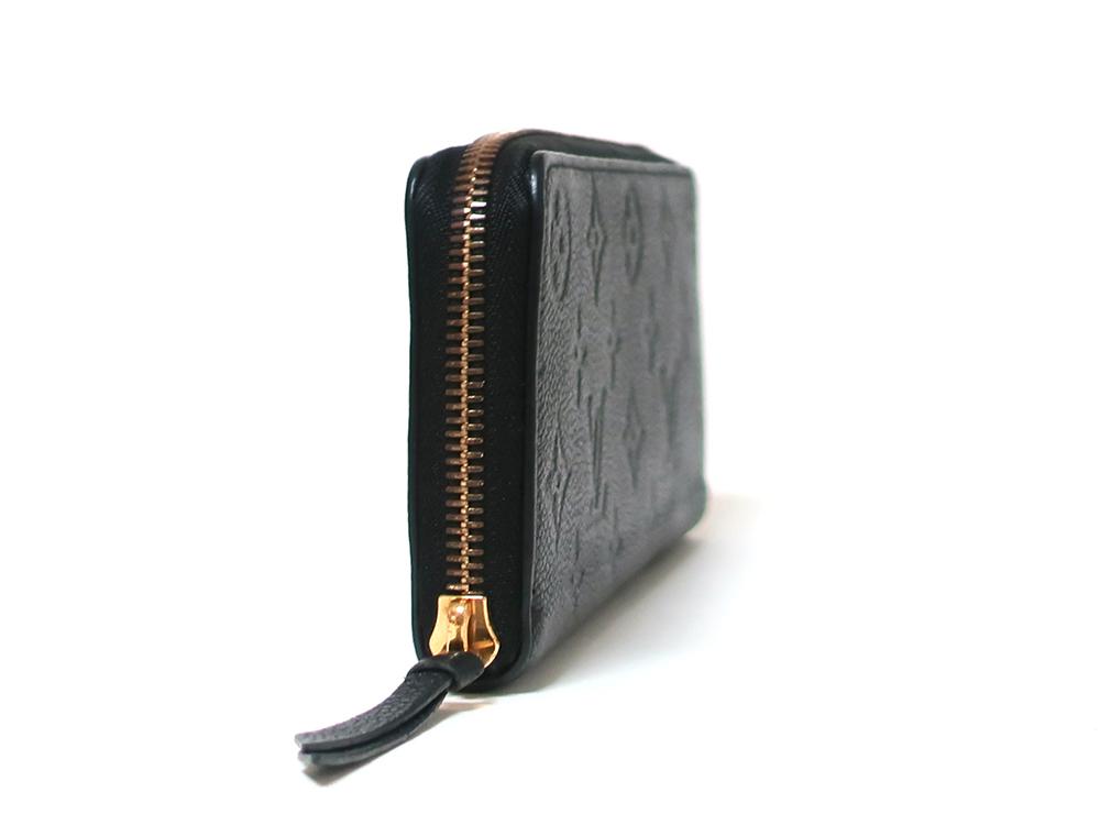 ルイヴィトン モノグラム・アンプラント ポルトフォイユ・クレマンス 長財布 M60171 側面