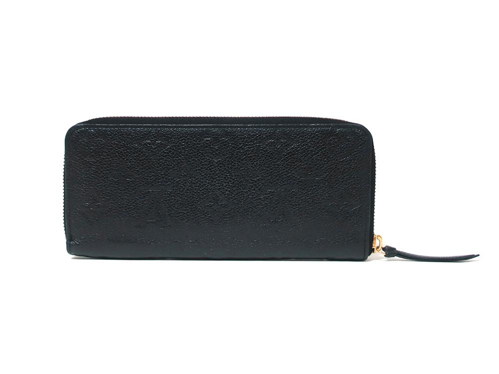 ルイヴィトン モノグラム・アンプラント ポルトフォイユ・クレマンス 長財布 M60171 背面