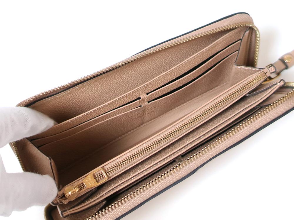 ルイヴィトン モノグラム・アンプラント ジッピー・ウォレット 長財布 M61866 オープンポケット01