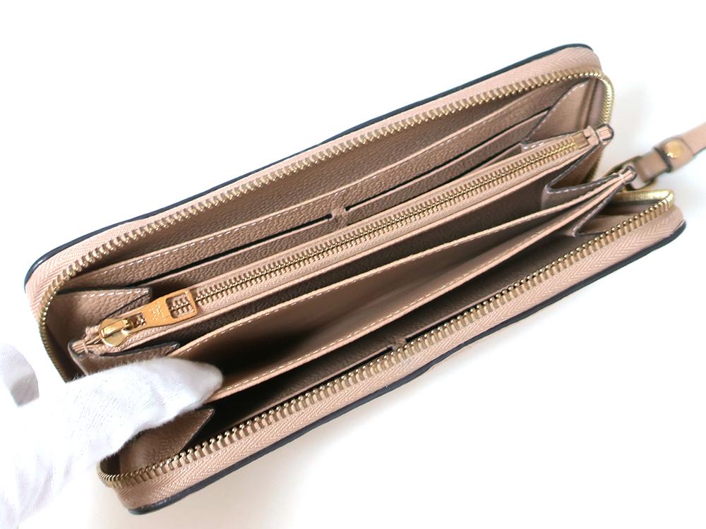 ルイヴィトン モノグラム・アンプラント ジッピー・ウォレット 長財布 M61866 オープンポケット02
