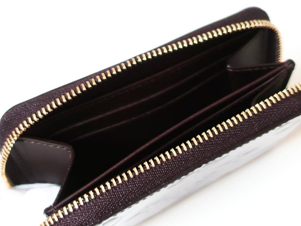 ルイヴィトン モノグラム・ヴェルニ ジッピー・コインパース コインケース M63607 カード入れ01