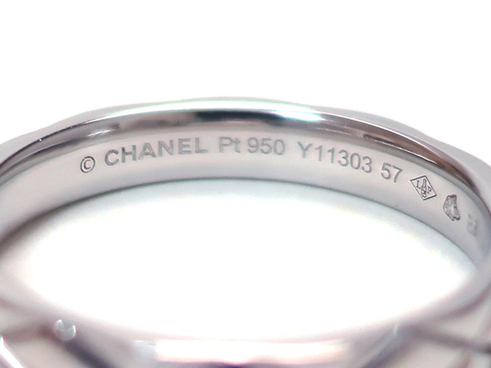 シャネル プラチナ マトラッセリング ラージモデル J1648 刻印01