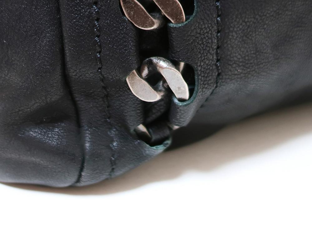 シャネル ラグジュアリーライン ココマーク トートバッグ ブラック 外側ダメージ03