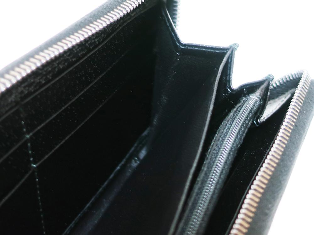 グッチ GGキャンバス 長財布 ブラック 112724 内側ダメージ