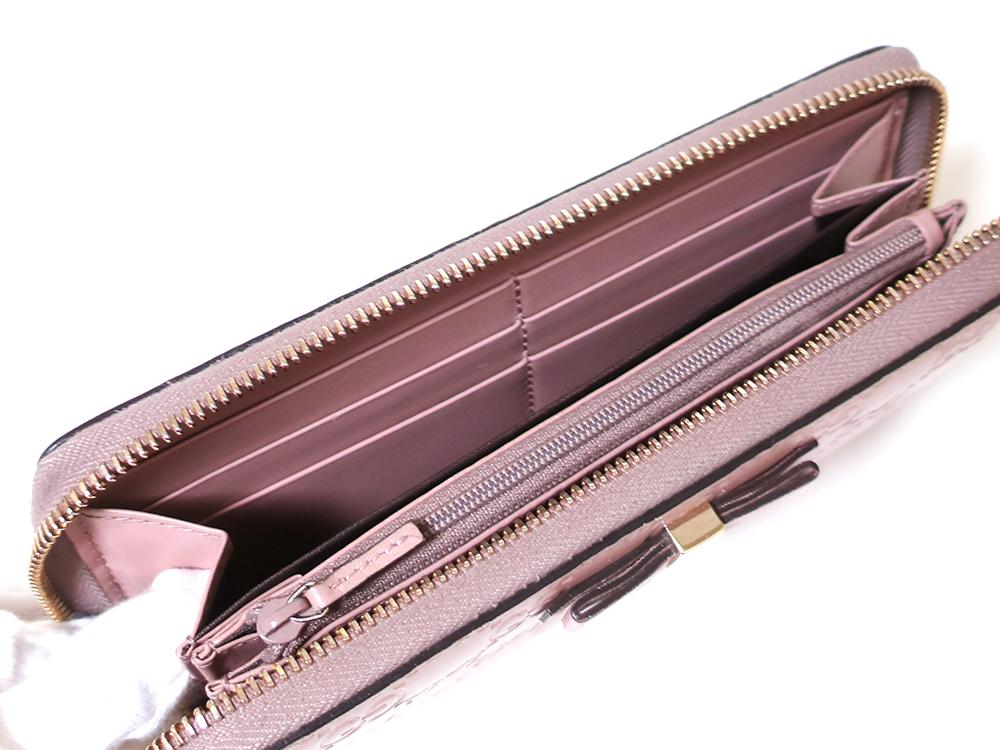 グッチ グッチシマ 長財布 ピンク 388680 カード入れ01