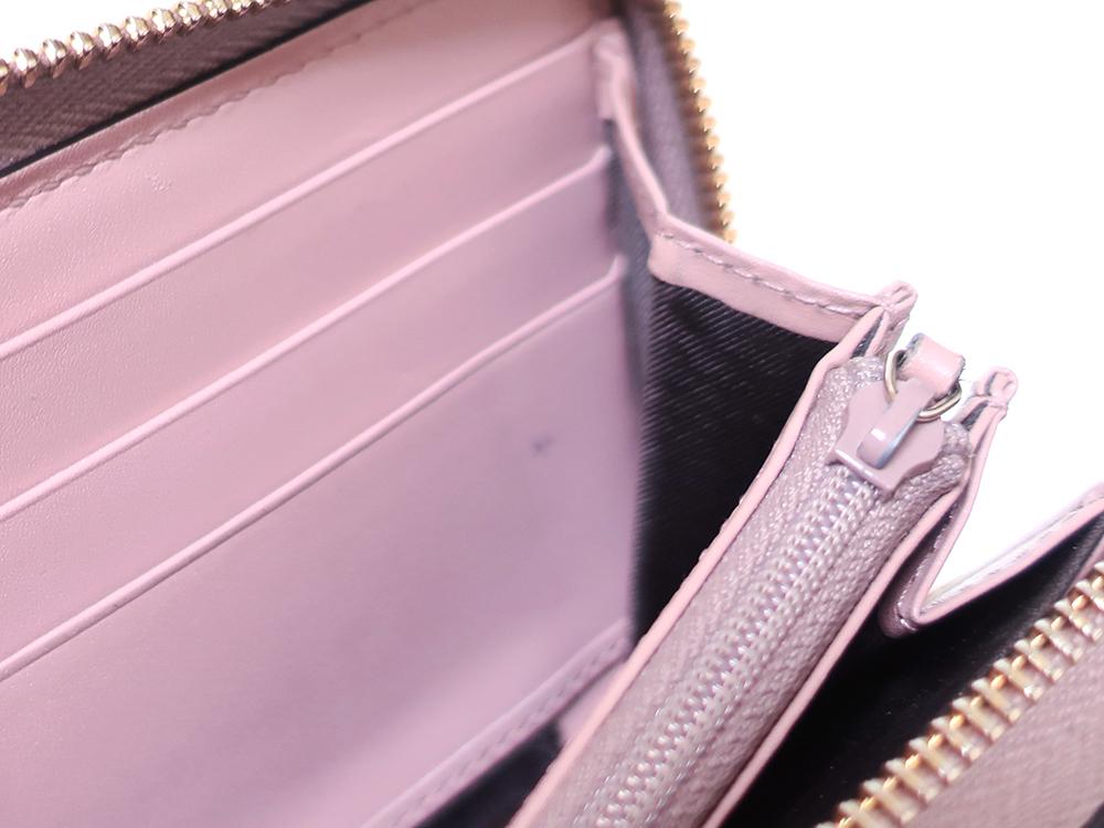 グッチ グッチシマ 長財布 ピンク 388680 内側ダメージ01