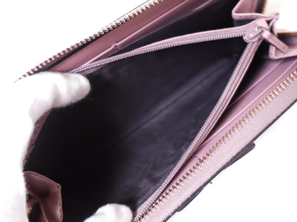 グッチ グッチシマ 長財布 ピンク 388680 内側ダメージ02