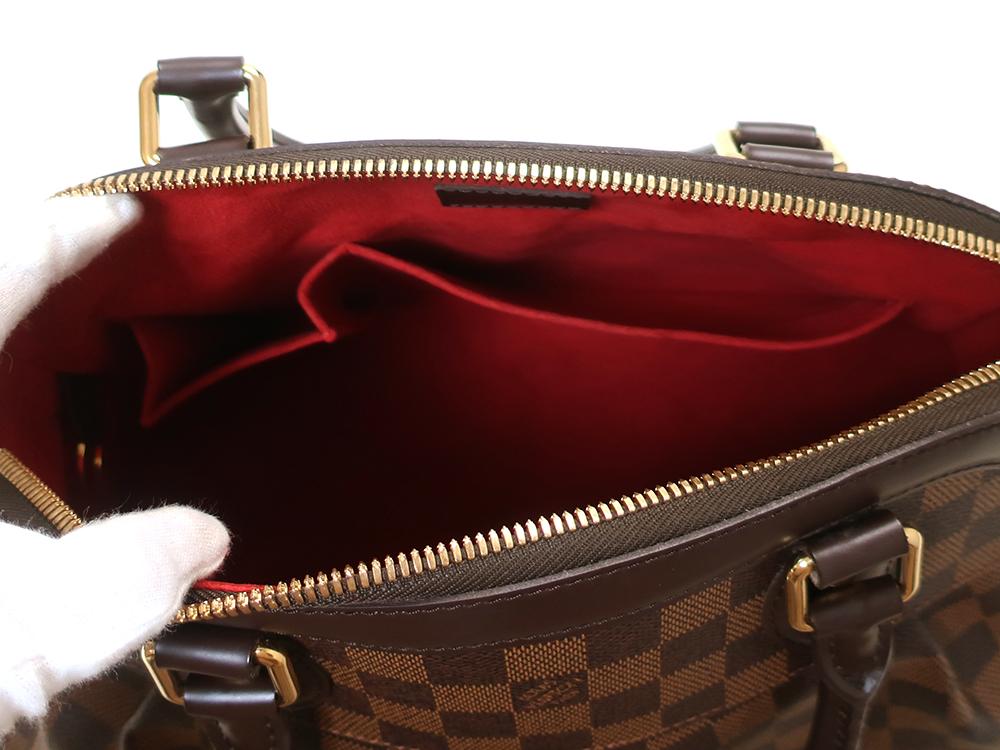 ルイヴィトン ダミエ エベヌ トレヴィGM N51998 オープンポケット