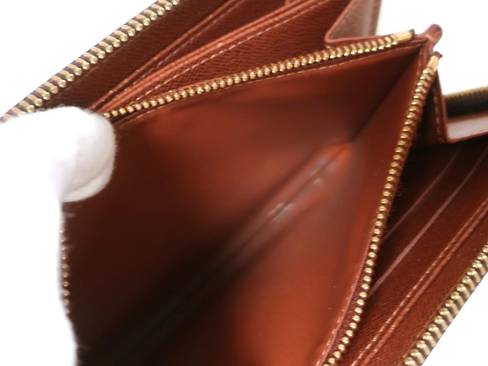 ルイヴィトン モノグラム ポルトフォイユ・エミリー 長財布 M60136 内側ダメージ03