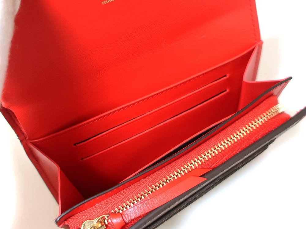 ルイヴィトン モノグラム ポルトフォイユ・フロール コンパクト 財布 M64587 カード入れ01