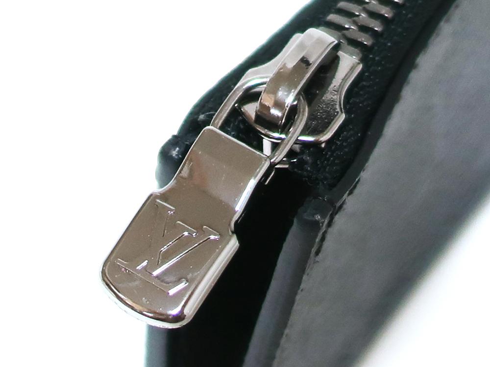 ルイヴィトン モノグラム・エクリプス ポルトモネ・ジュール コインケース M63536 ロゴ