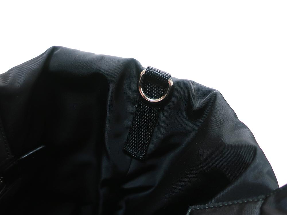プラダ ミメティコ リバーシブル 2WAY ハンドバッグ BN1959 金具01