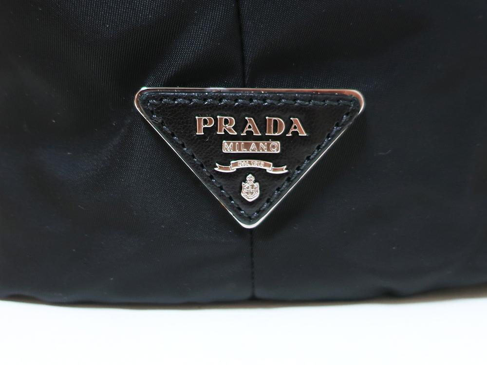 プラダ ミメティコ リバーシブル 2WAY ハンドバッグ BN1959 ロゴ04