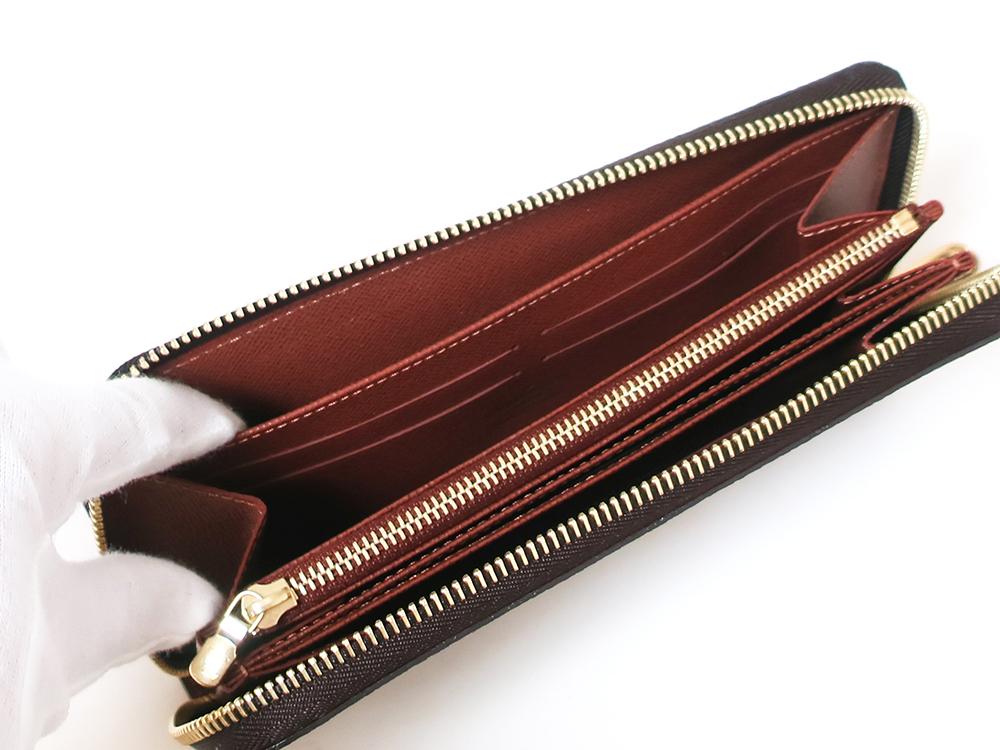 ルイヴィトン モノグラム ジッピー・ウォレット 長財布 M60017 オープンポケット01