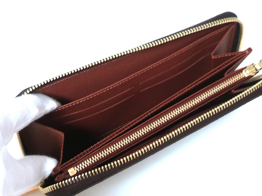 ルイヴィトン モノグラム ジッピー・ウォレット 長財布 M60017 オープンポケット03