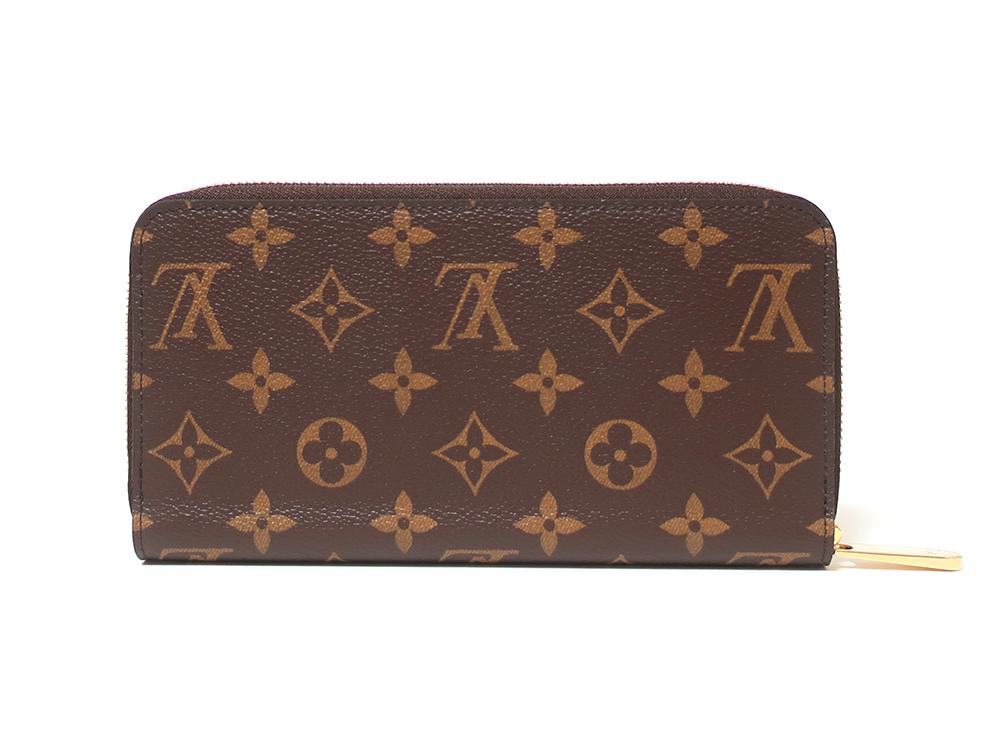 ルイヴィトン モノグラム ジッピー・ウォレット 長財布 M42616 背面