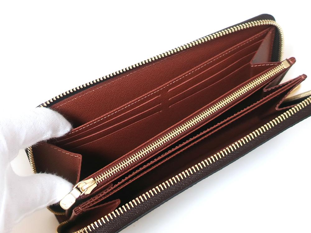 ルイヴィトン モノグラム ジッピー・ウォレット 長財布 M42616 オープンポケット01