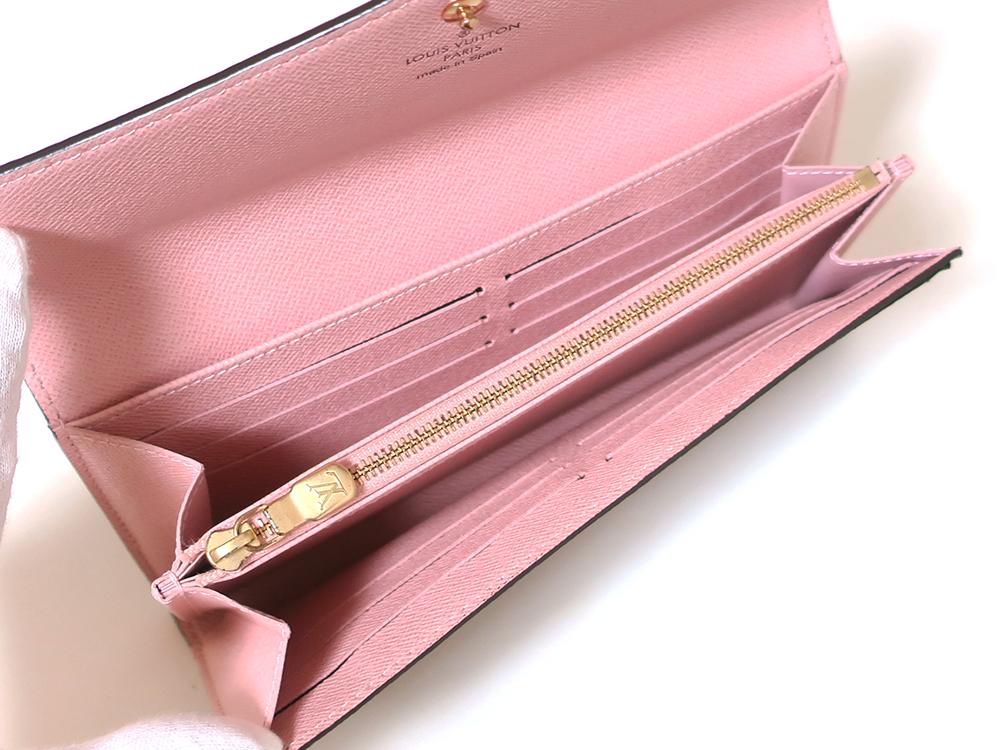 ルイヴィトン モノグラム ポルトフォイユ・サラ 長財布 M62235 内面