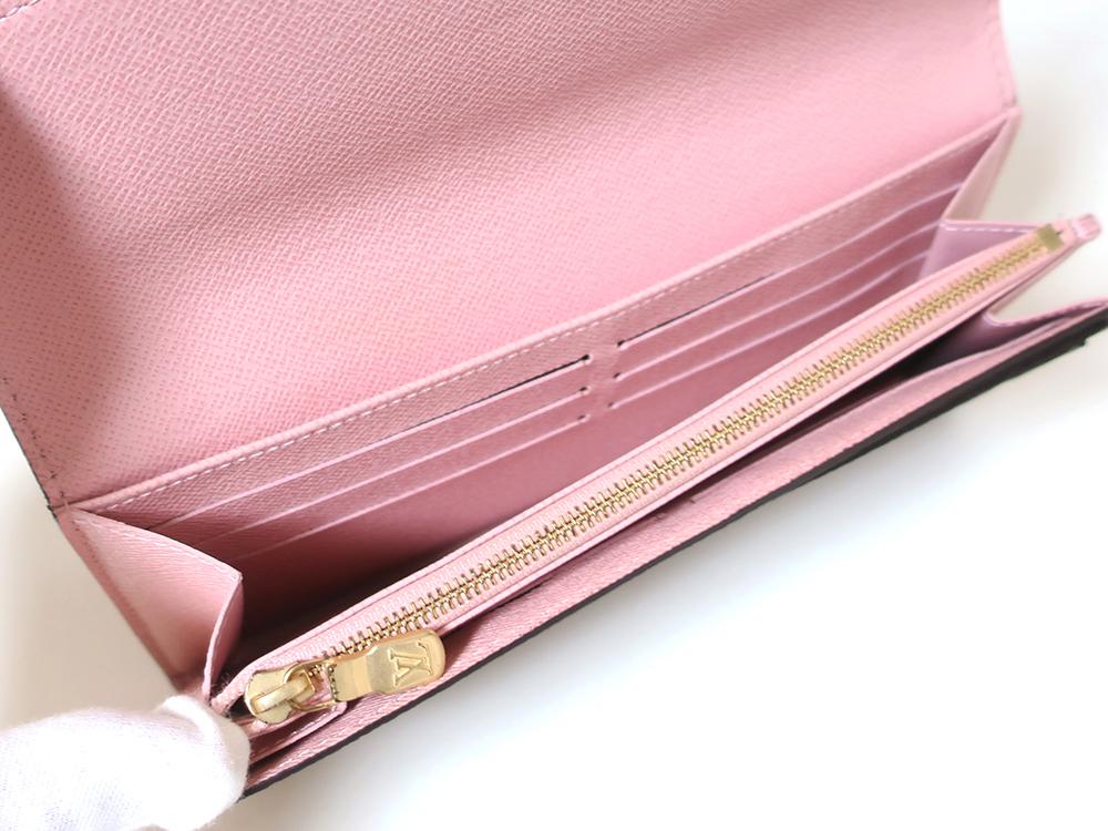 ルイヴィトン モノグラム ポルトフォイユ・サラ 長財布 M62235 カード入れ01