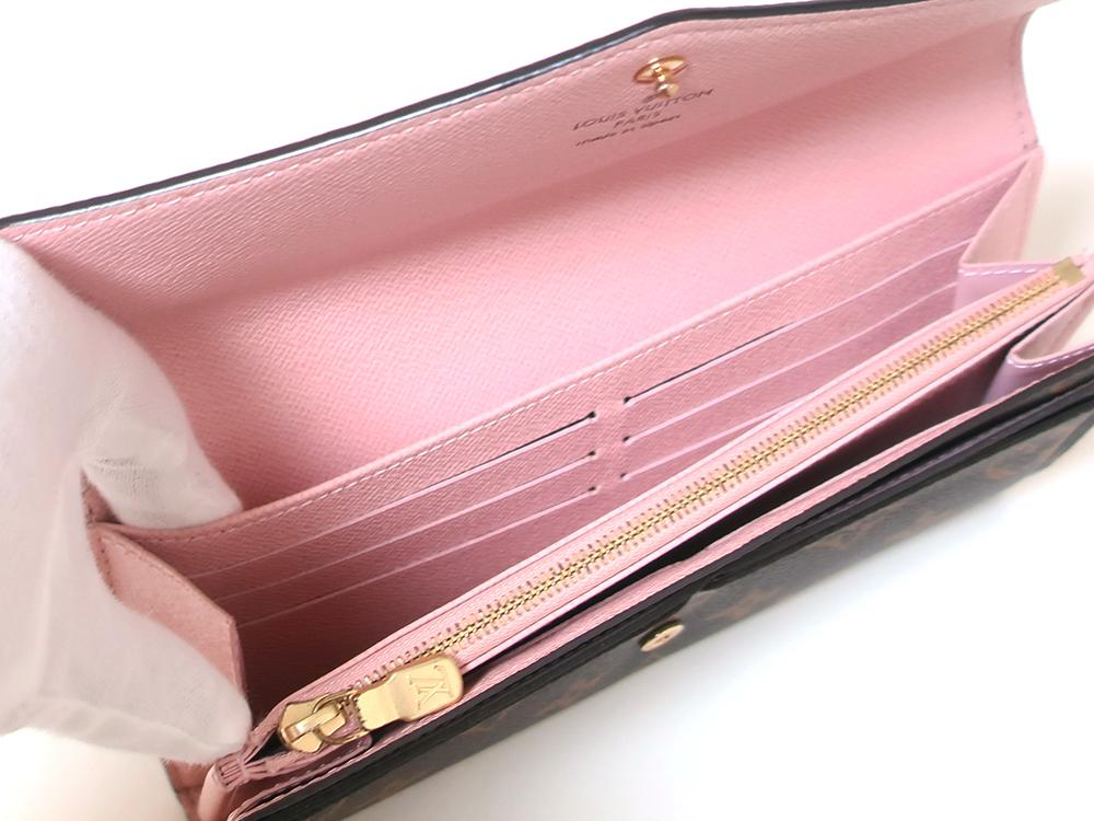 ルイヴィトン モノグラム ポルトフォイユ・サラ 長財布 M62235 オープンポケット01