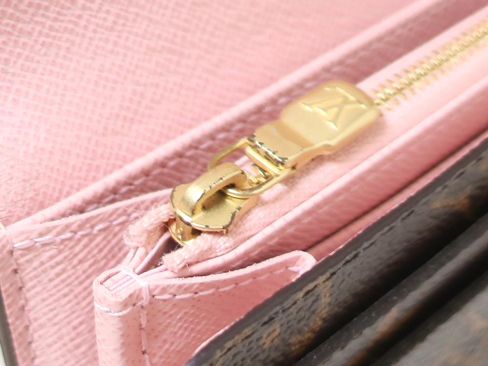 ルイヴィトン モノグラム ポルトフォイユ・サラ 長財布 M62235 内側ダメージ02
