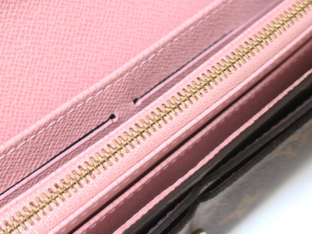 ルイヴィトン モノグラム ポルトフォイユ・サラ 長財布 M62235 内側ダメージ03